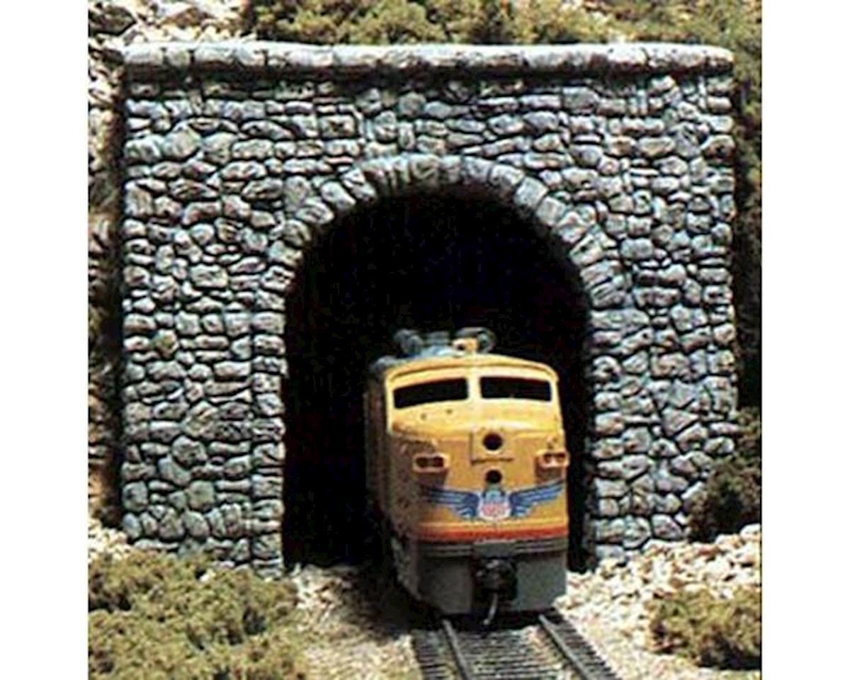 Woodland Scenics N Single Tunnel Portal, Random Stone (2)