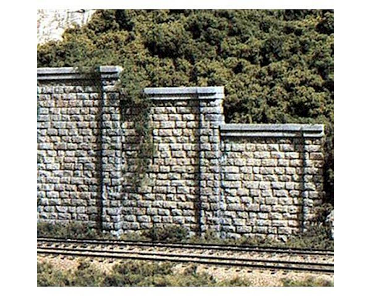 Woodland Scenics N Retaining Wall, Cut Stone (6)