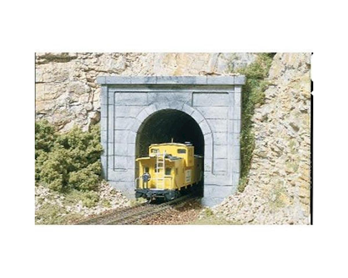 HO Single Tunnel Portal, Concrete by Woodland Scenics