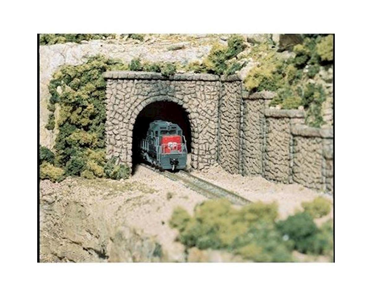 Woodland Scenics HO Single Tunnel Portal, Random Stone