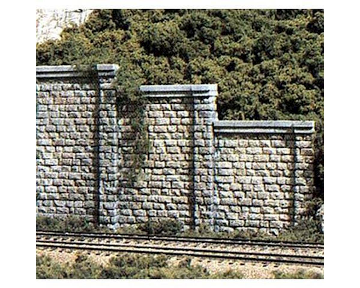 Woodland Scenics HO Retaining Wall, Cut Stone (3)