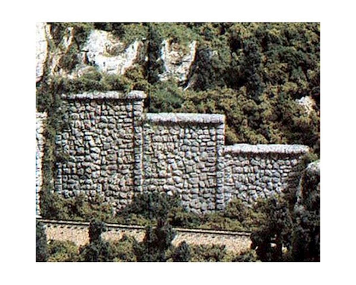 HO Retaining Wall, Random Stone (3) by Woodland Scenics