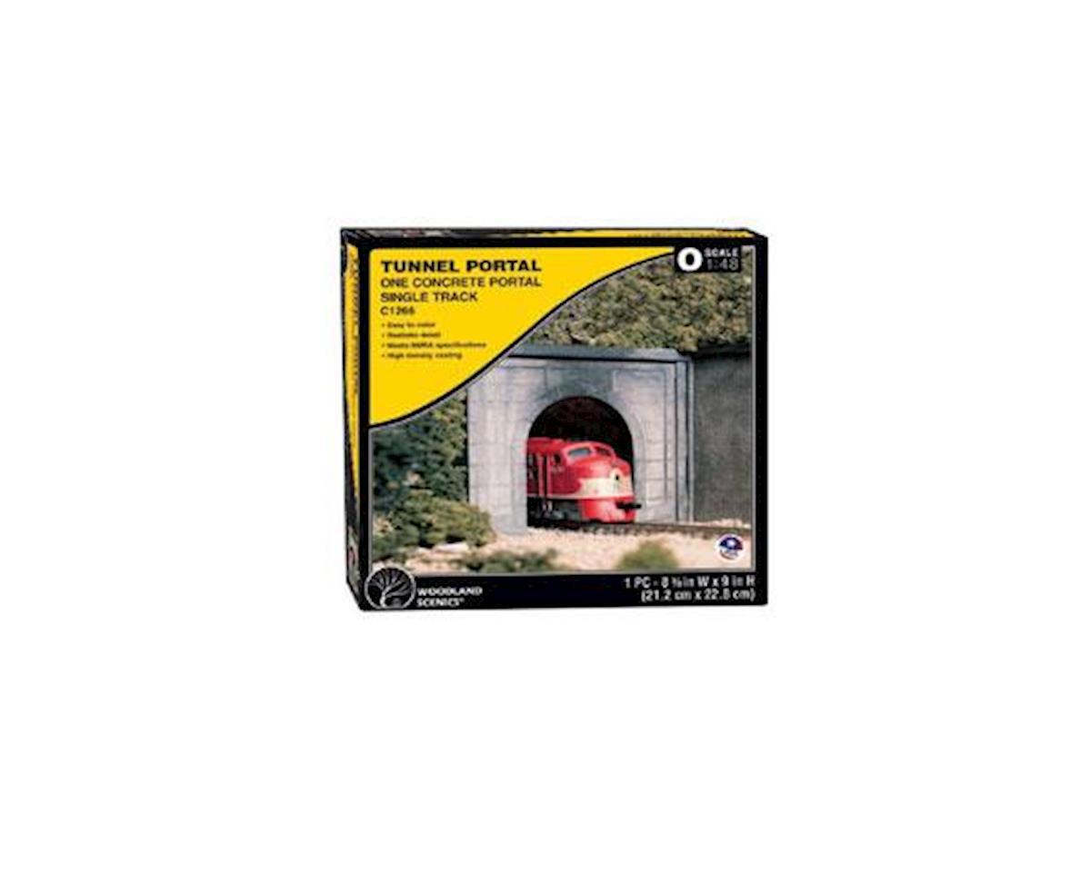 O Tunnel Portal Concrete by Woodland Scenics