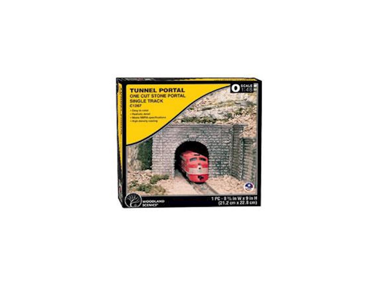 Woodland Scenics O Tunnel Portal, Cut Stone