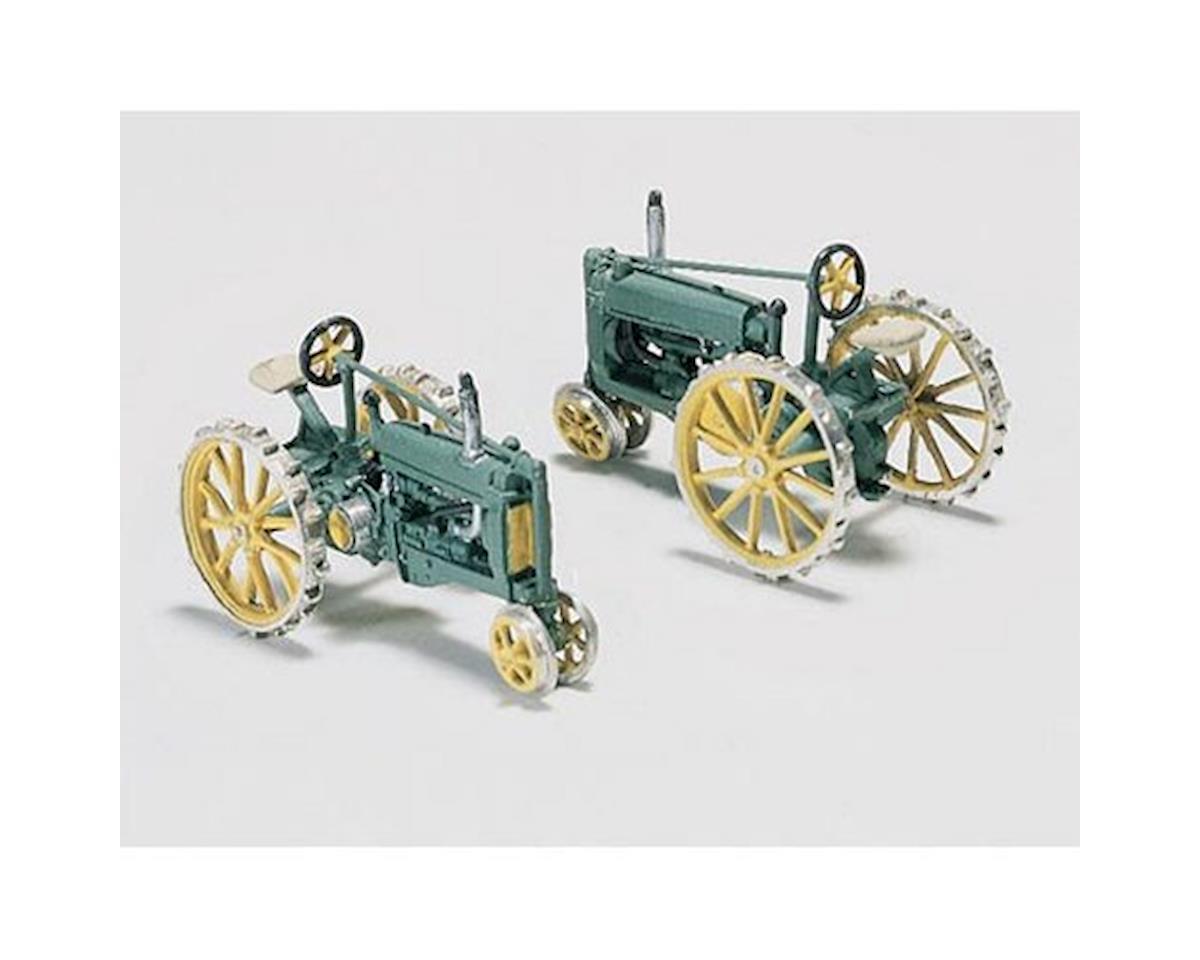 HO 2 Tractors, 1929-38 by Woodland Scenics