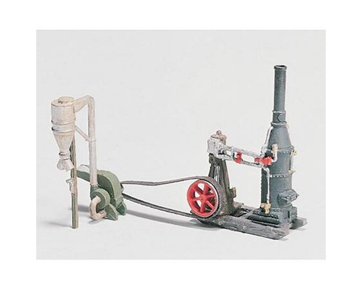Woodland Scenics HO Steam Engine/Hammer Mill
