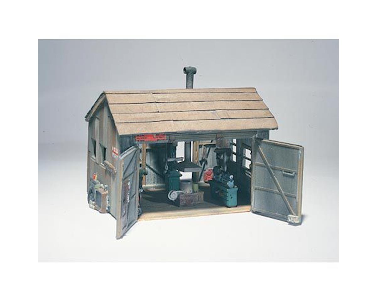 HO Tucker Bros Machine Shop by Woodland Scenics