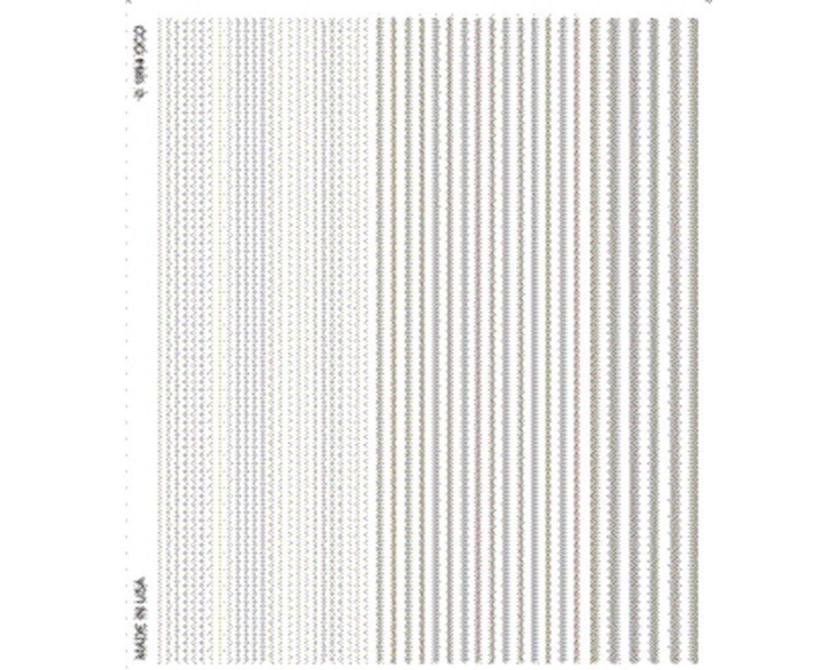 Stripes, White by Woodland Scenics