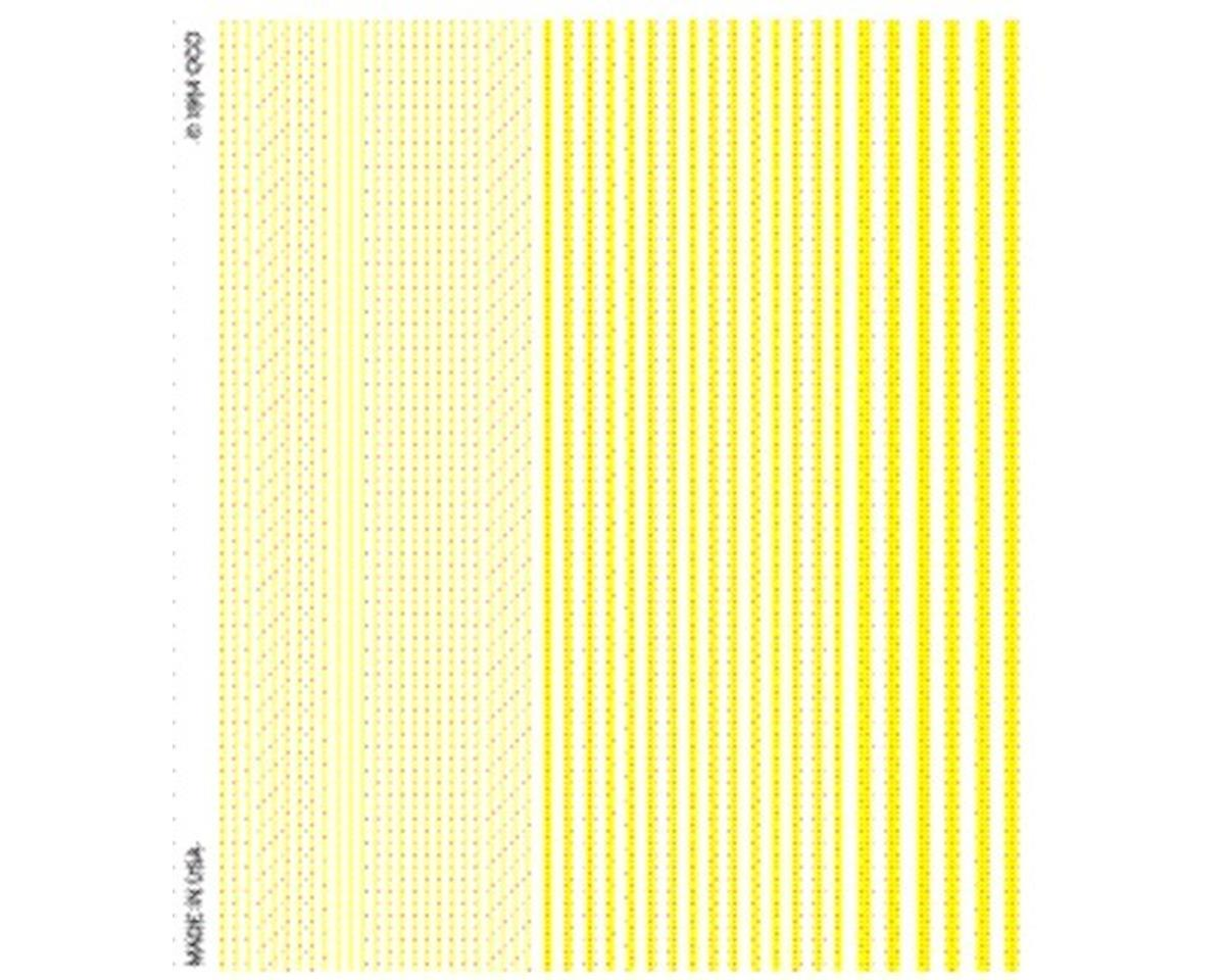 Stripes, Yellow by Woodland Scenics