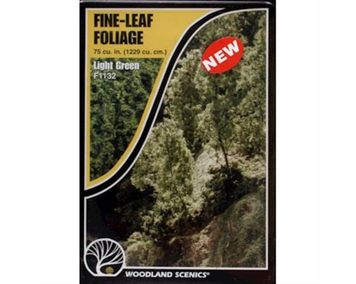 Woodland Scenics Fine Leaf Foliage, Light Green/75 cu. in.