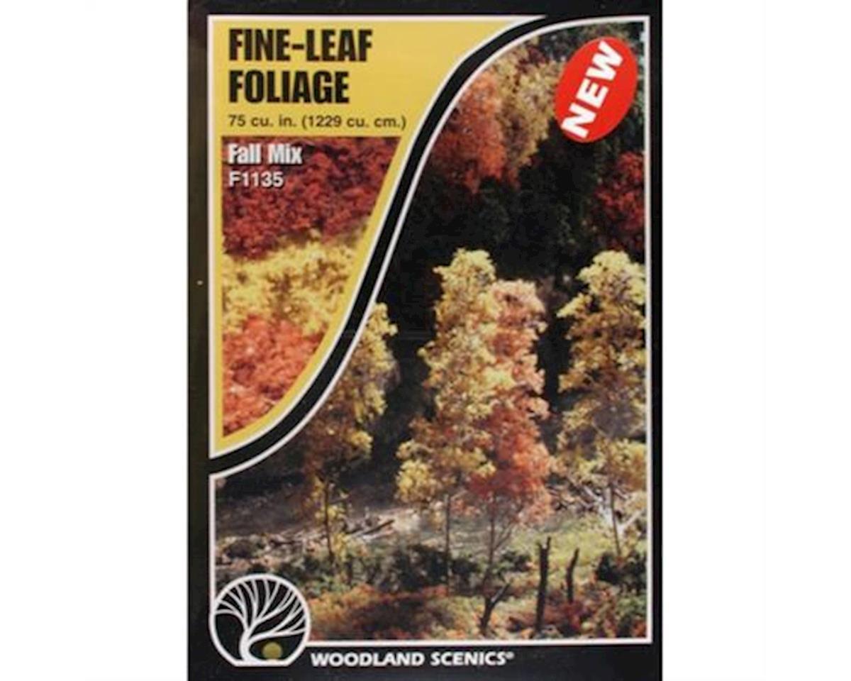 Fine Leaf Foliage, Fall Mix/75 cu. in. by Woodland Scenics