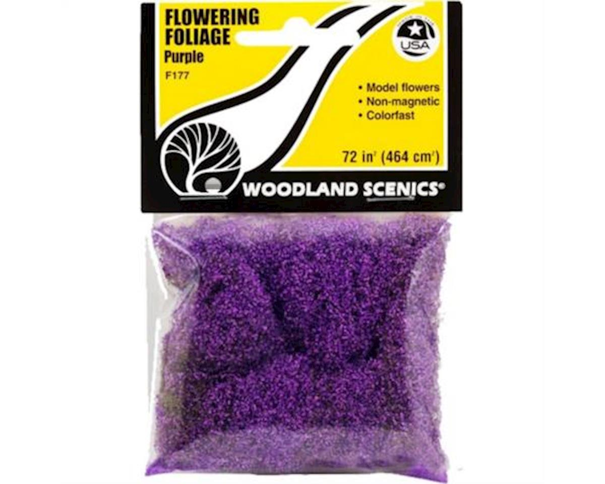 Woodland Scenics Flowering Foliage Bag, Purple/100 sq. in.