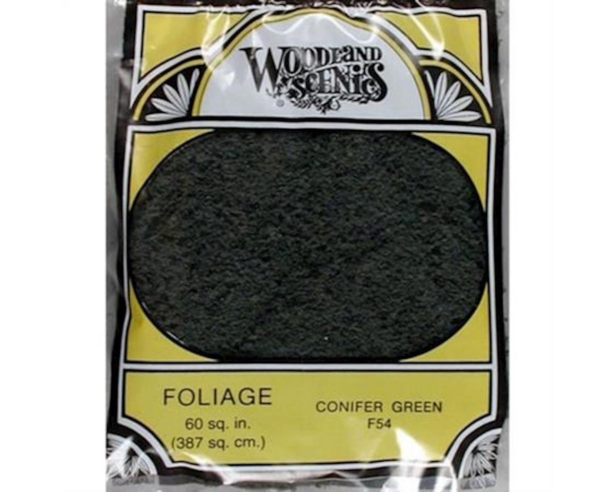 Woodland Scenics Foliage Bag, Conifer Green/90.7 sq. in.