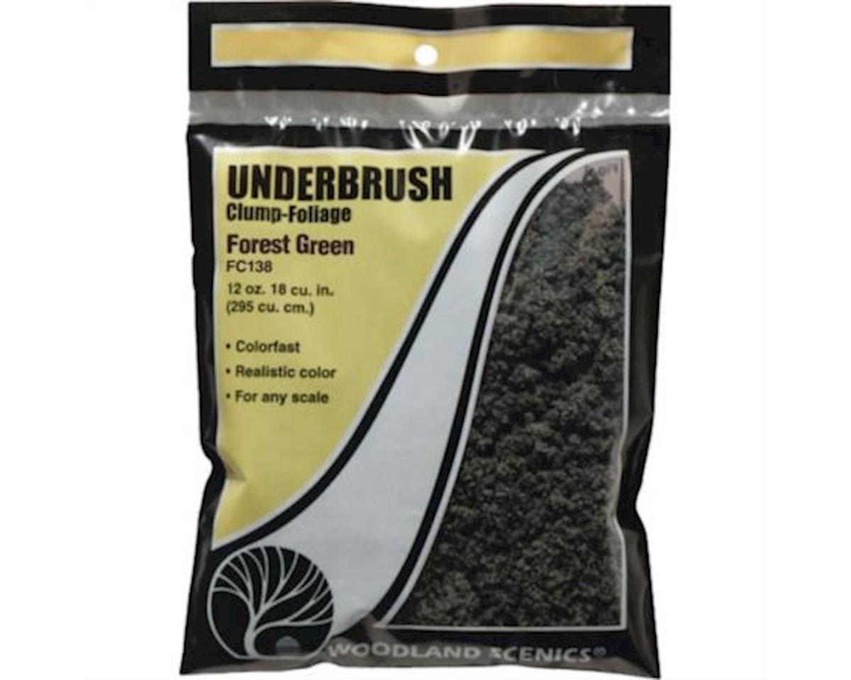 Woodland Scenics Underbrush Bag, Forest Green/18 cu. in.