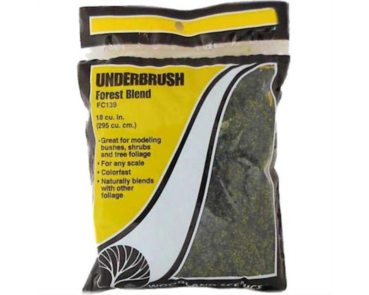 Woodland Scenics Underbrush Bag, Forest Blend/18 cu. in.