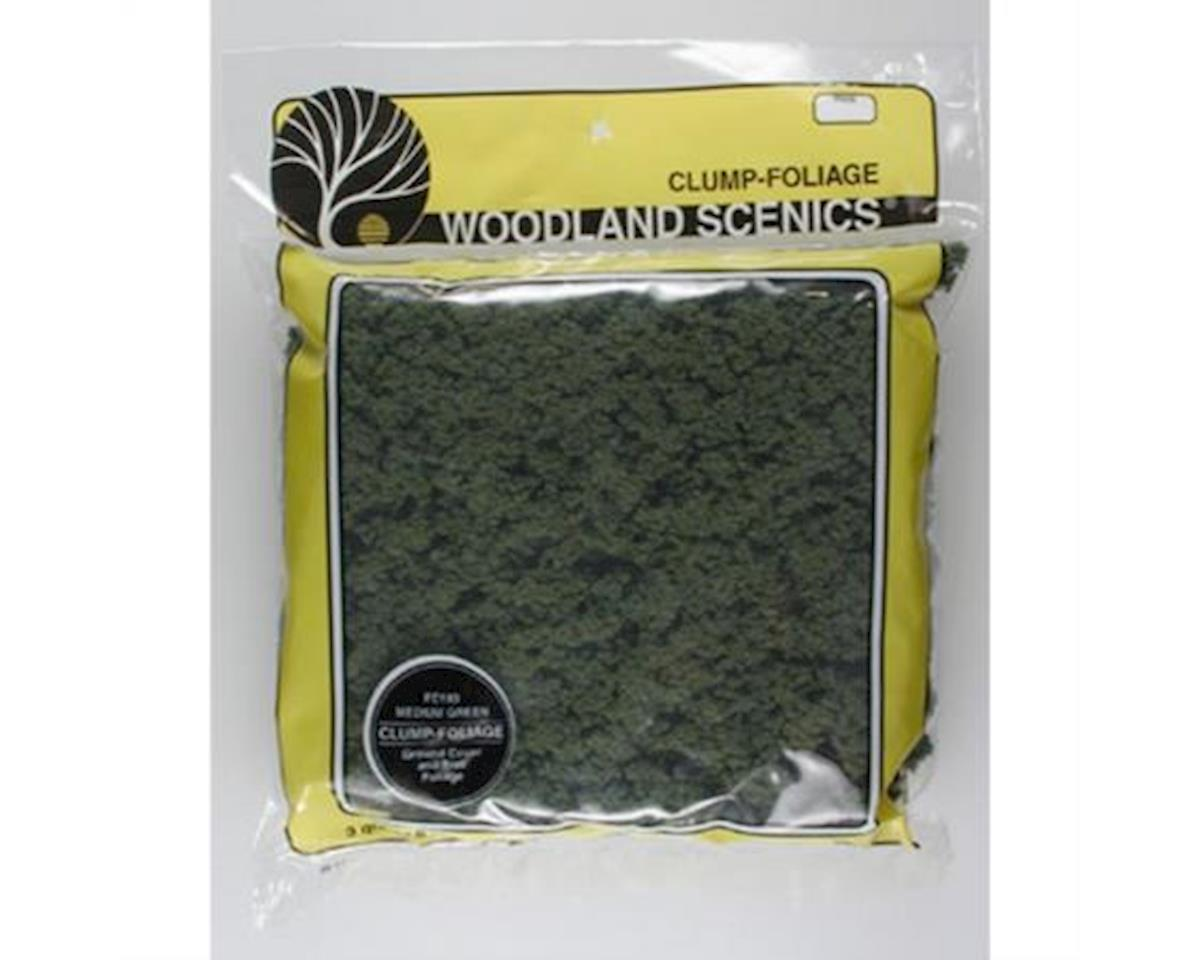 Woodland Scenics Clump-Foliage Bag, Medium Green/165 cu. in.