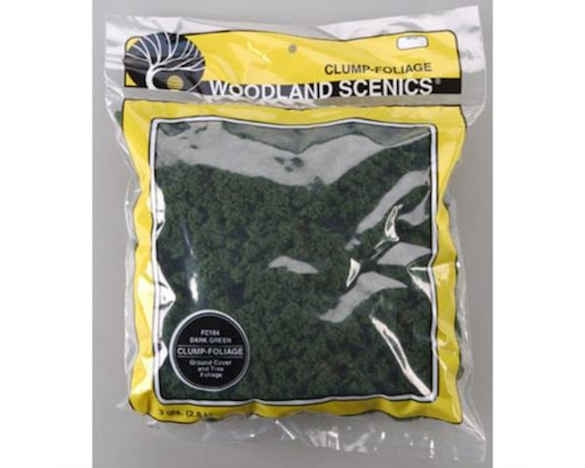 Woodland Scenics Clump-Foliage Bag, Dark Green/165 cu. in.