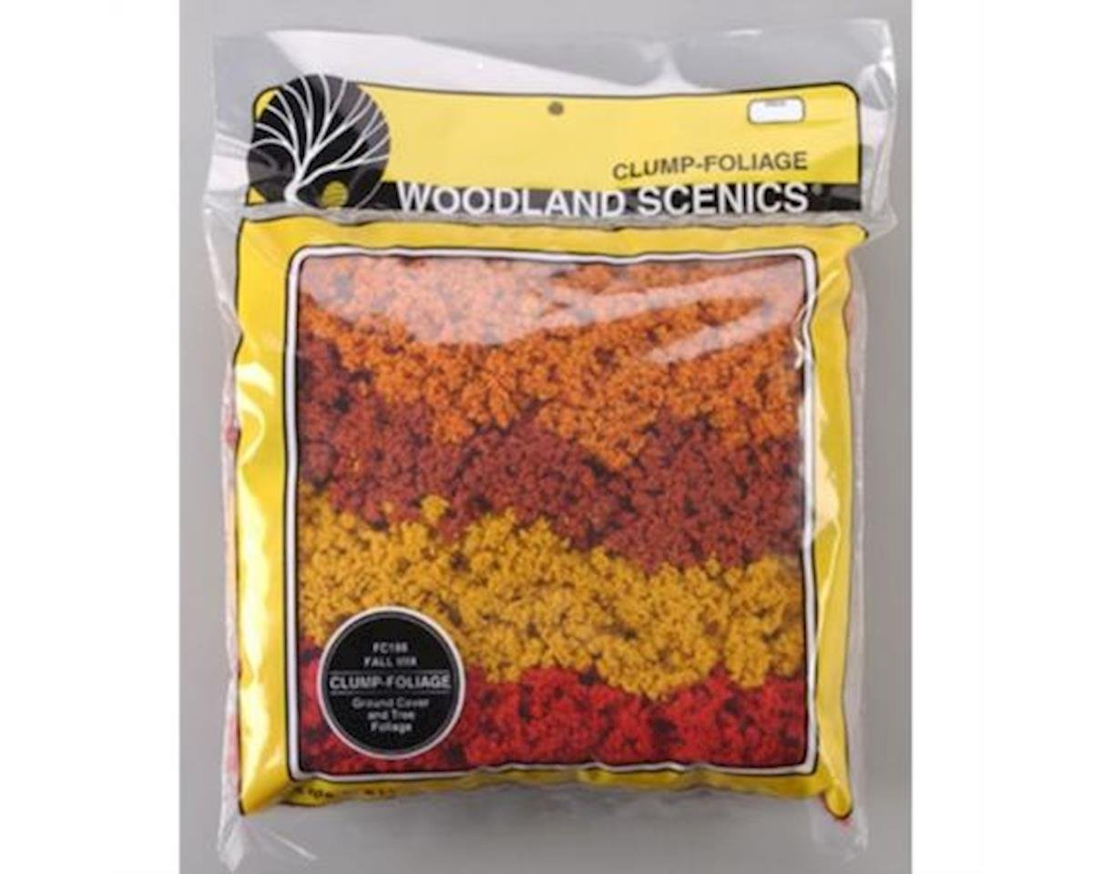 Woodland Scenics Clump-Foliage Bag, Fall Mix/165 cu. in.