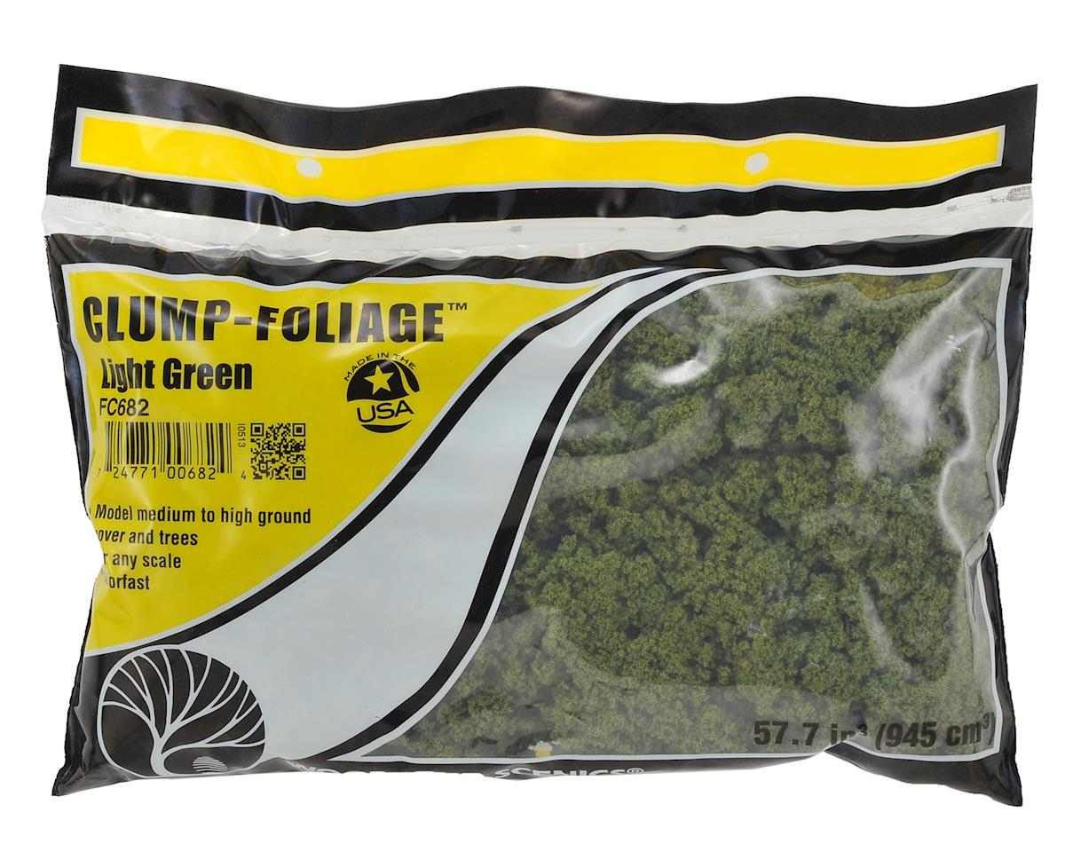 Clump Foliage Bag (Light Green) by Woodland Scenics