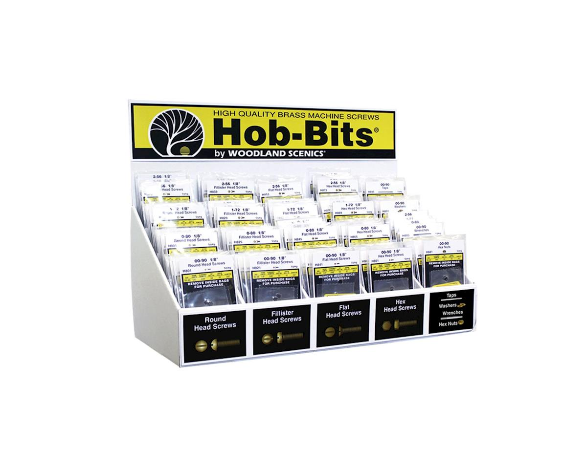 Woodland Scenics H798 Hob-Bits Assortment w/Merchandiser (Dropship)