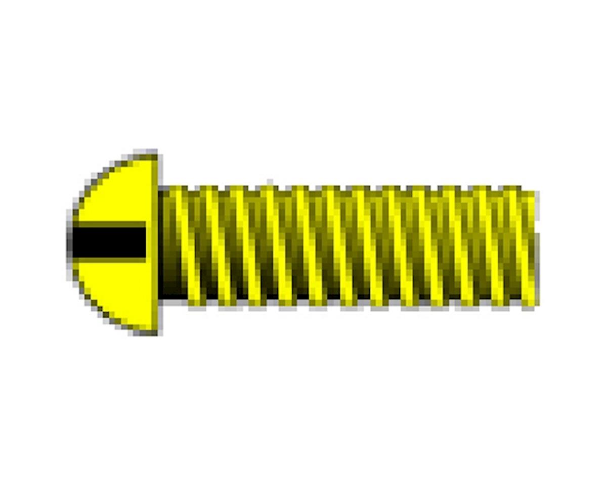 "Woodland Scenics 0-80 1/4"" Round Head Machine Screw (5)"