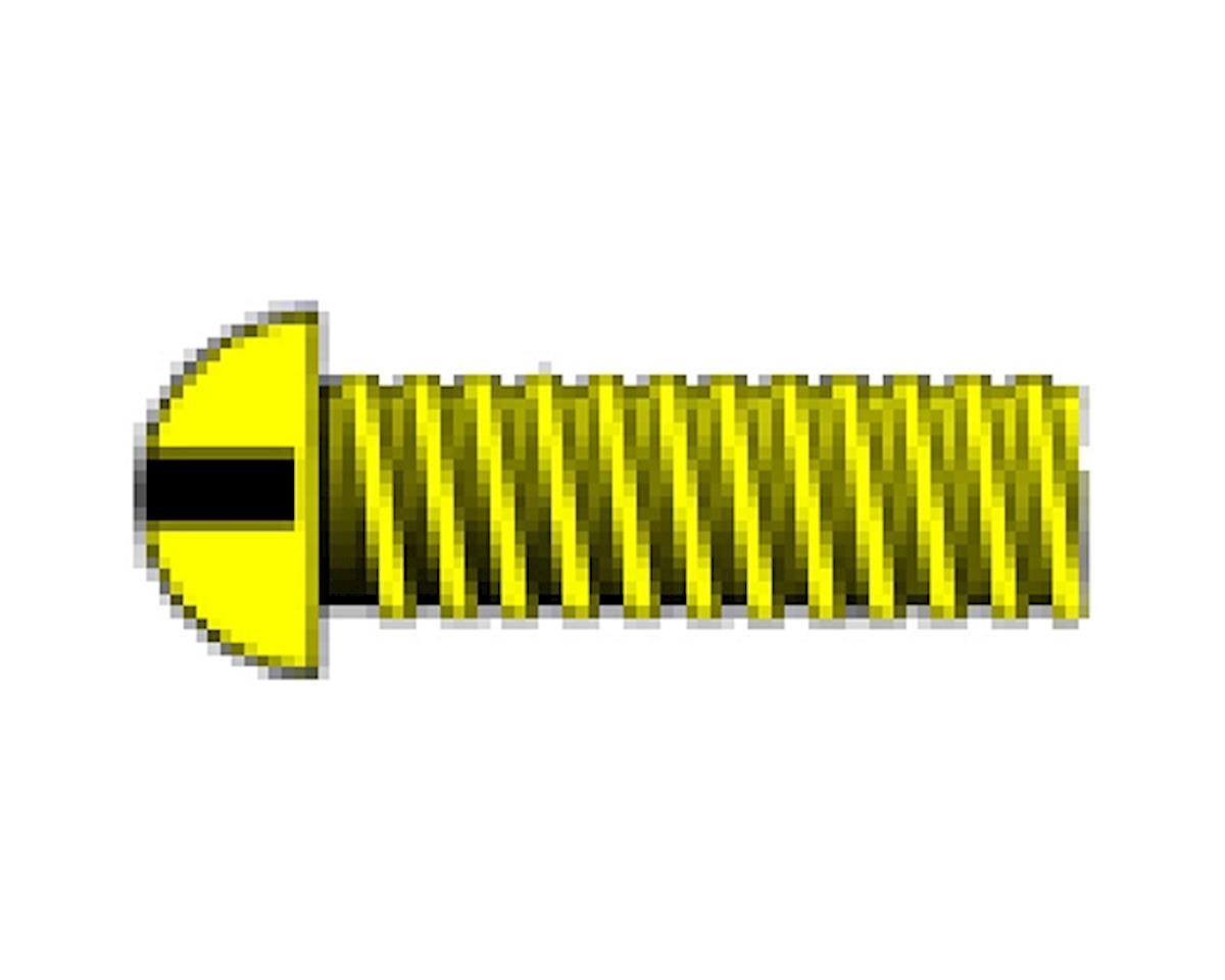 "Woodland Scenics 1-72 1/4"" Round Head Machine Screw (5)"