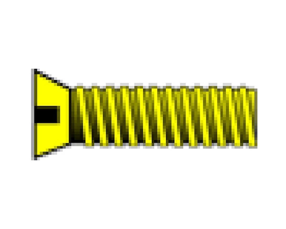 "Woodland Scenics 1-72 1/4"" Flat Head Machine Screw (5)"
