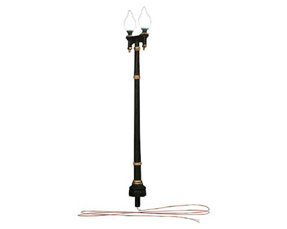 Woodland Scenics N Street Lights, Double Lamp Post