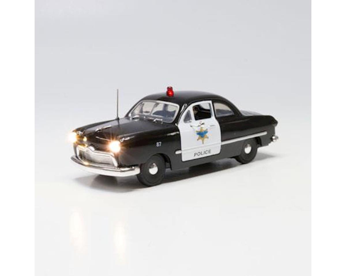O Just Plug Police Car by Woodland Scenics