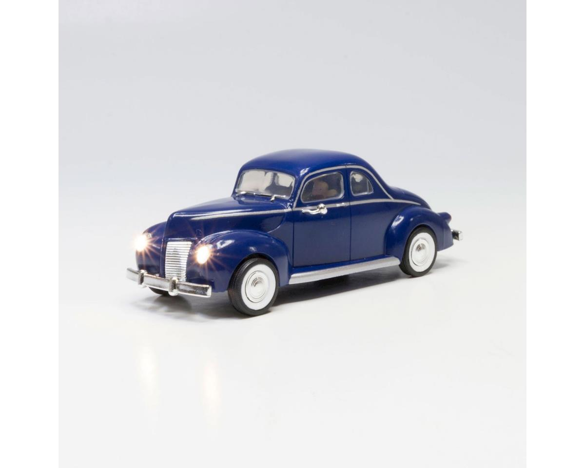 Woodland Scenics O Just Plug Blue Coupe
