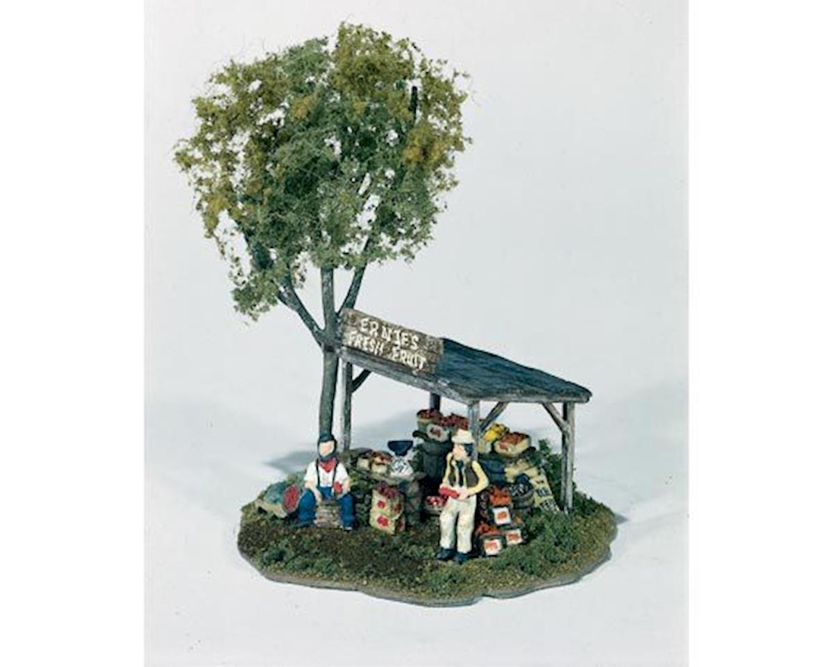 Woodland Scenics HO Ernie's Fruit Stand
