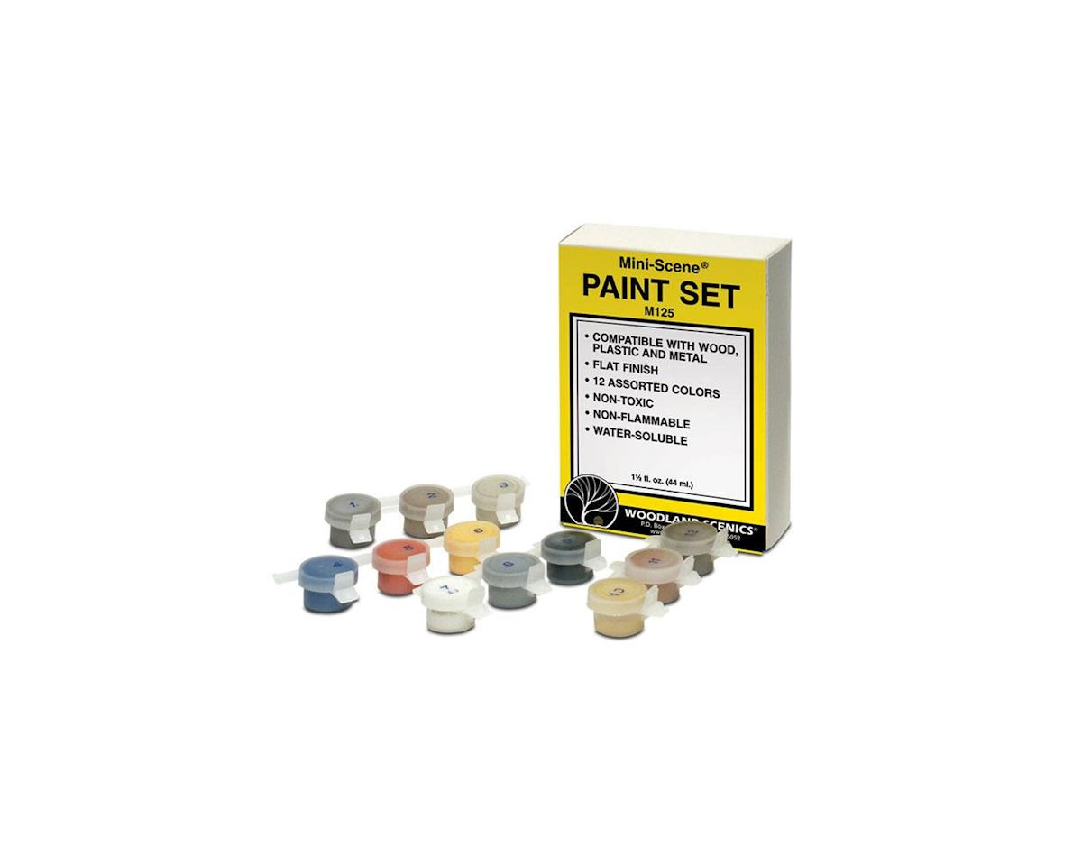 Woodland Scenics HO Mini-Scene Paint Set