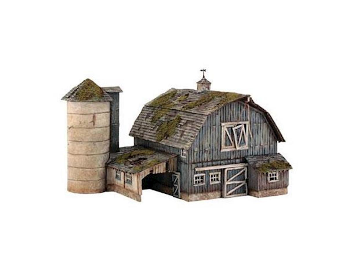 Woodland Scenics HO KIT Rustic Barn