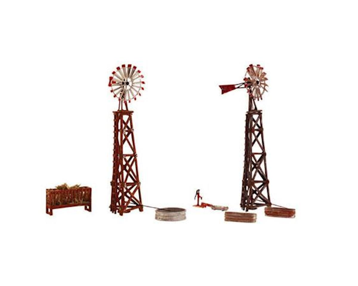 Woodland Scenics HO KIT Windmills