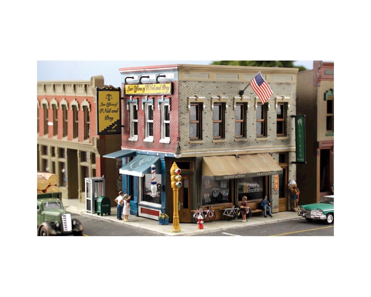 Woodland Scenics N KIT Main Street Mercantile