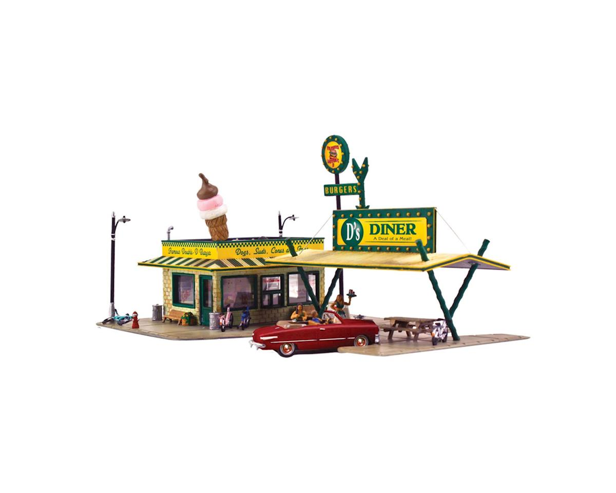 N KIT D's Diner by Woodland Scenics