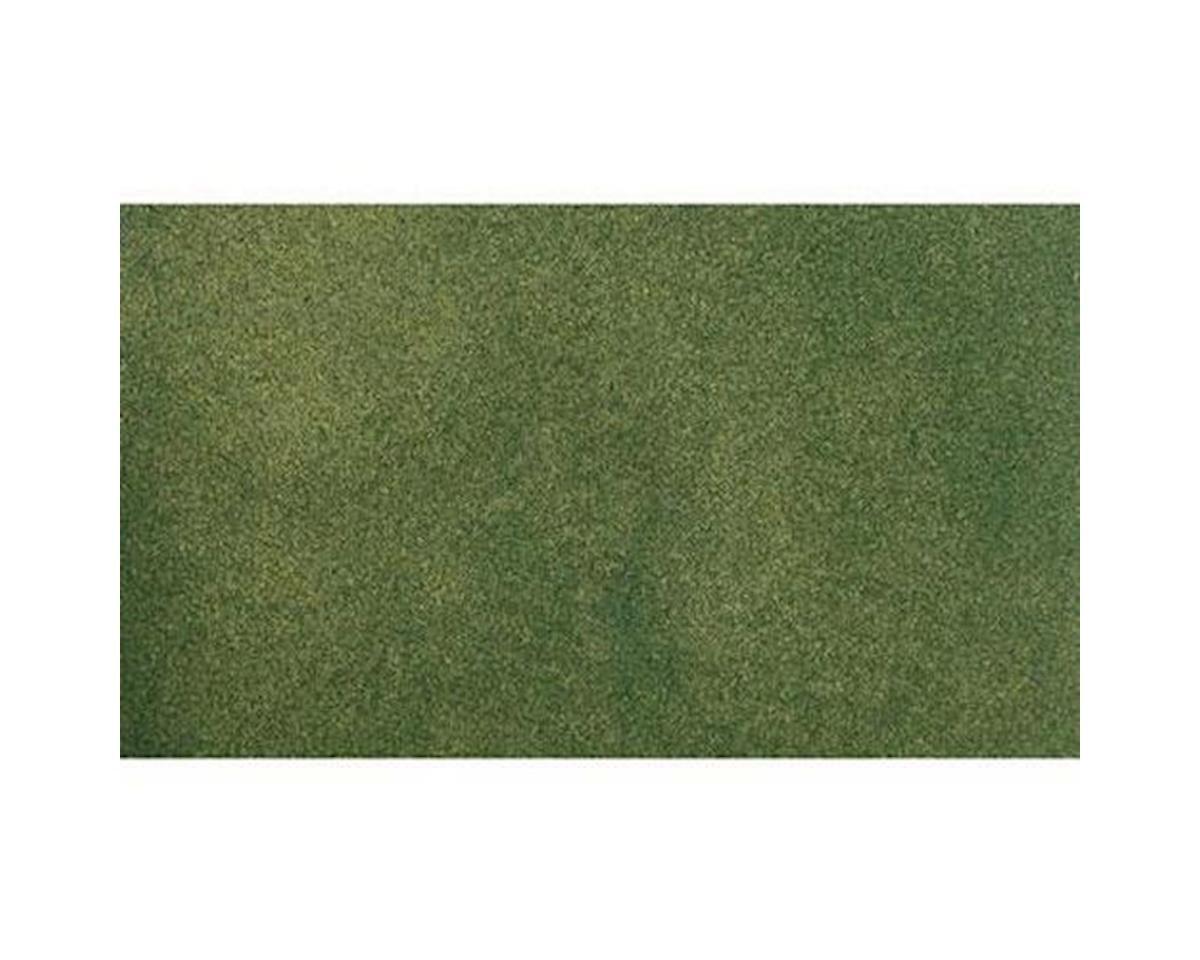 "Woodland Scenics 25"" x 33"" Grass Mat, Green"