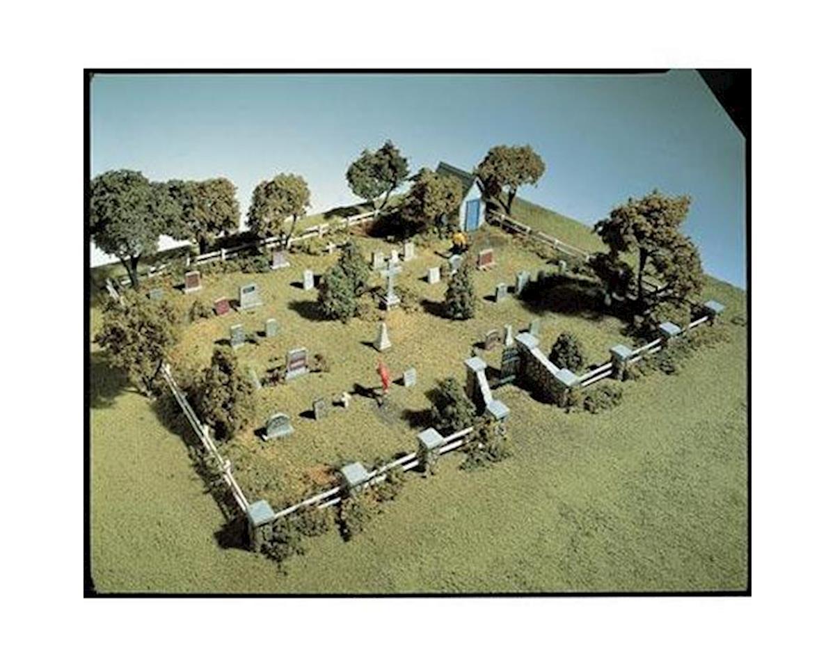 Woodland Scenics HO Maple Leaf Cemetery