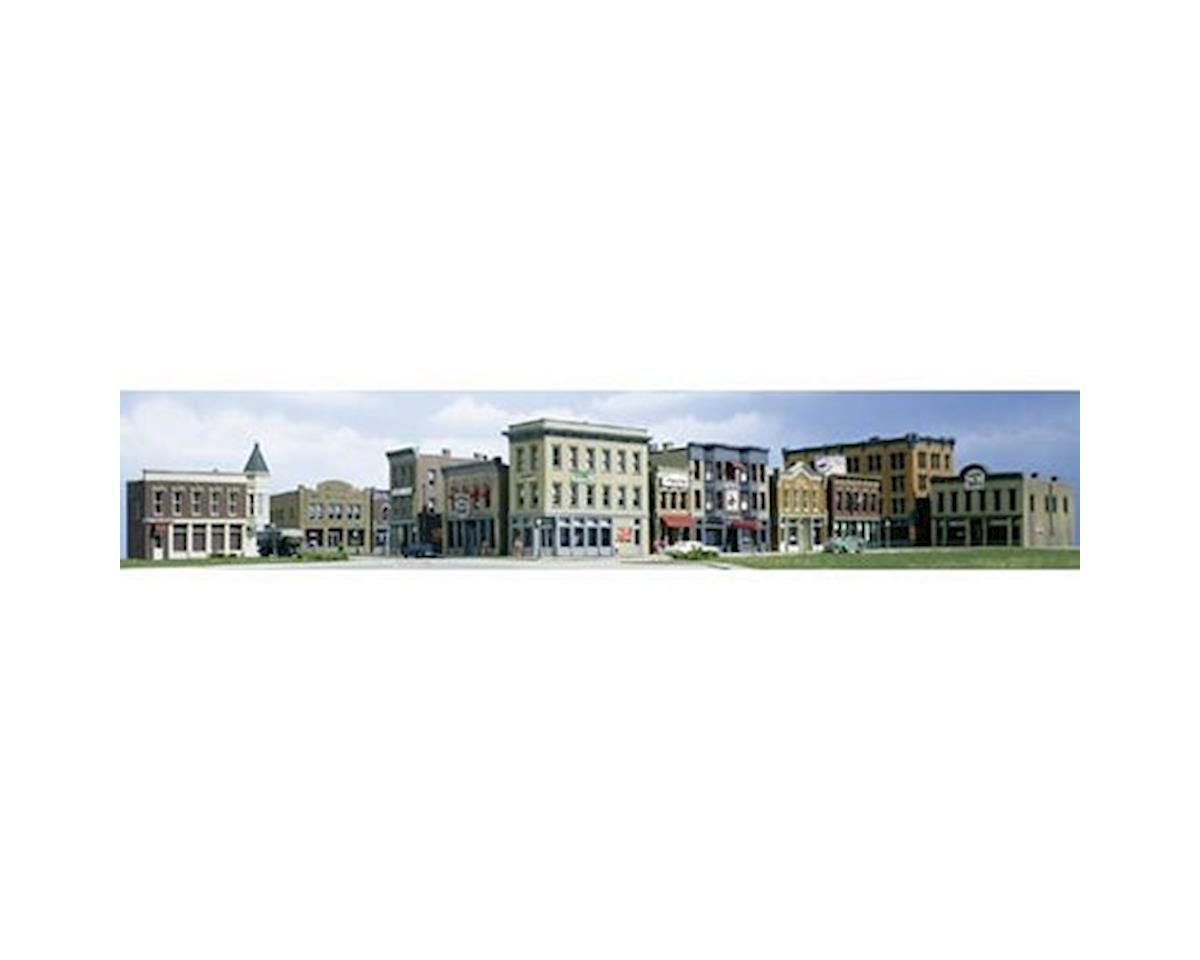 Woodland Scenics N KIT Town and Factory Building Set