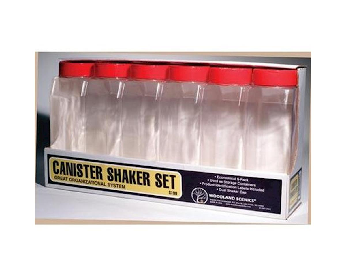 Woodland Scenics Canister Shaker Set (6)