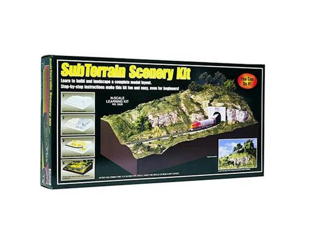 N Subterrain Scenery Kit by Woodland Scenics