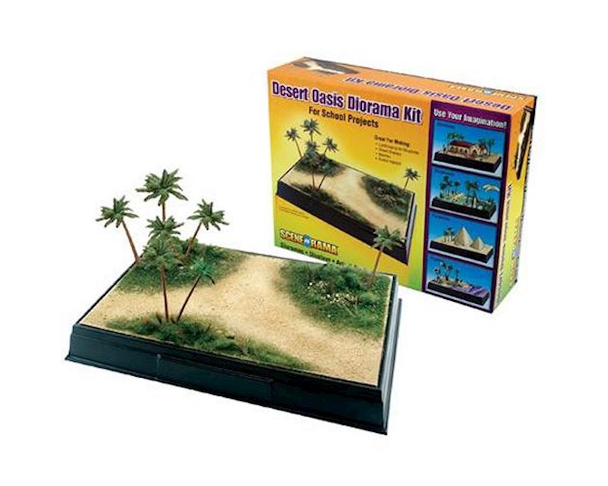 Woodland Scenics Scene-A-Rama Desert Oasis Diorama Kit