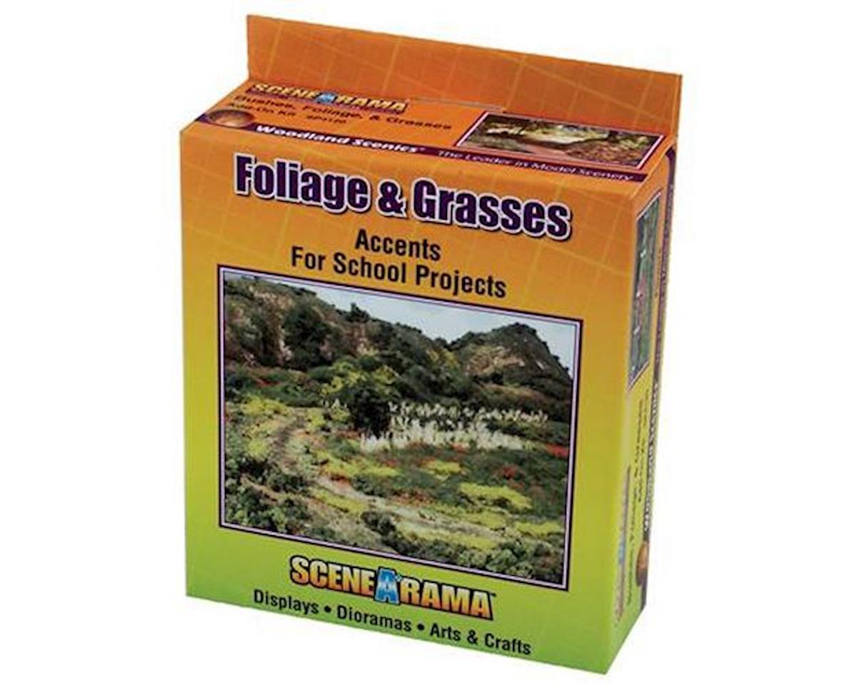 Scene-A-Rama Bushes, Foliage & Grasses Kit by Woodland Scenics