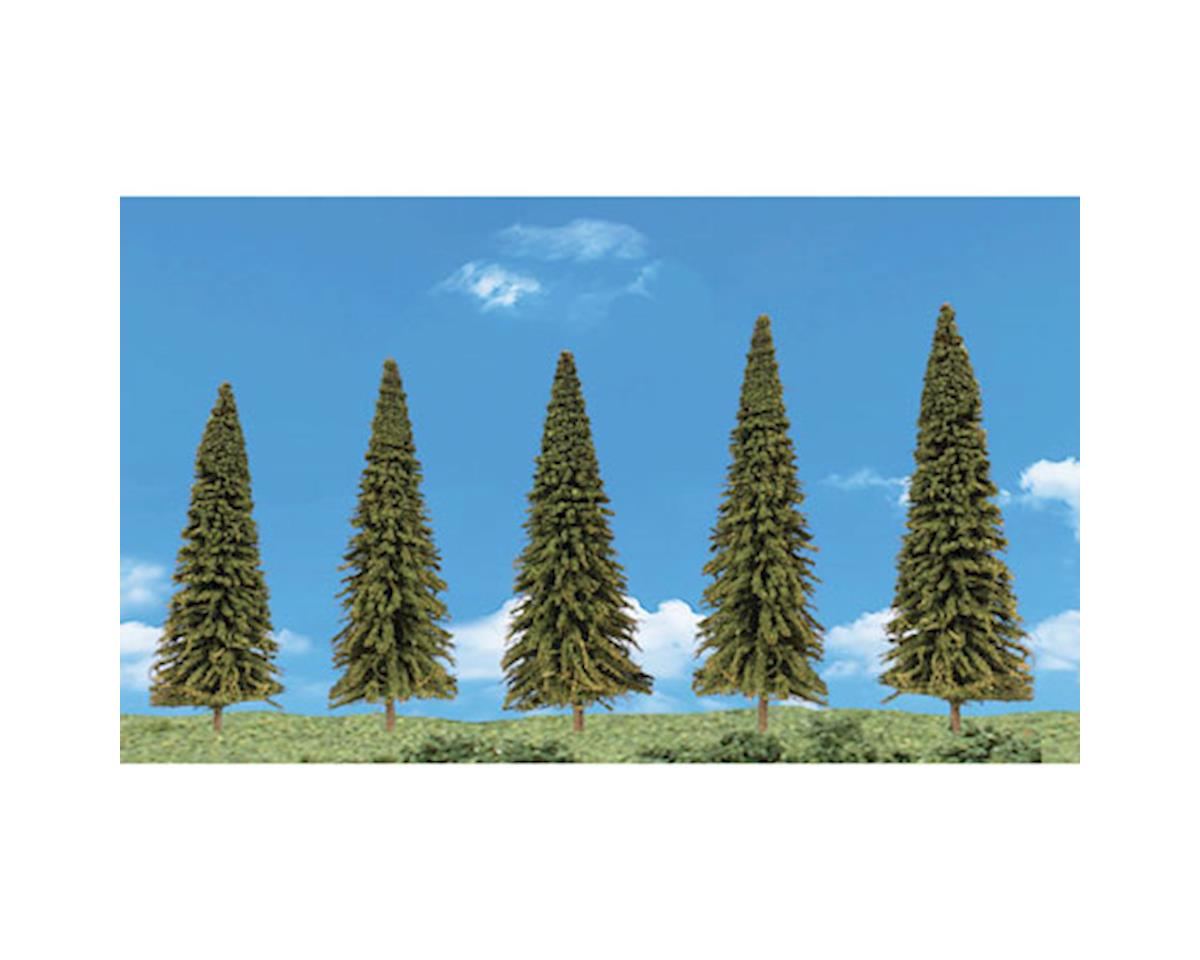 Woodland Scenics Scene-A-Rama Evergreen Trees (5)