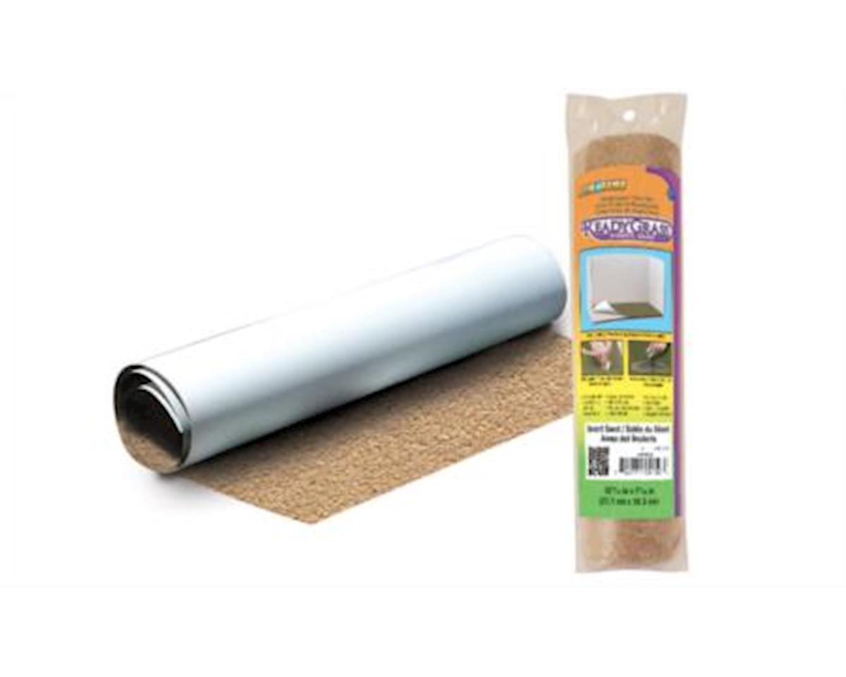 Woodland Scenics S-A-R RdyGrss Vinyl Mat Sand 7-5/16x10-11/16