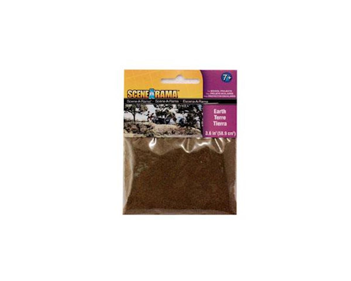 Woodland Scenics Scene-A-Rama Scenery Bags, Earth 2oz