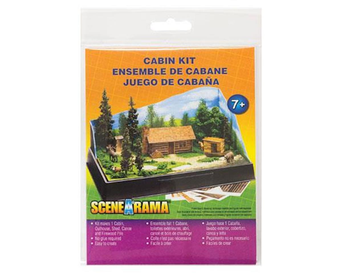 Woodland Scenics Scene-A-Rama Cabin Kit