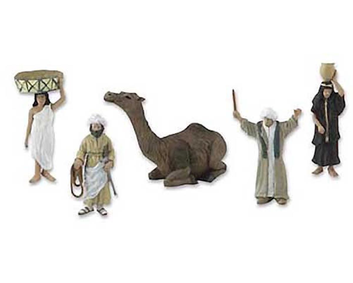SP4341 Scene Setters Egyptian Culture Clamshell Pkg by Woodland Scenics