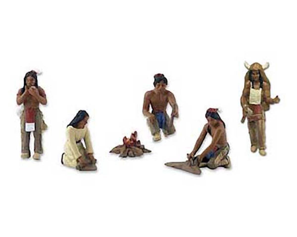 Woodland Scenics  Scene-A-Rama Scene Setters Native Americans
