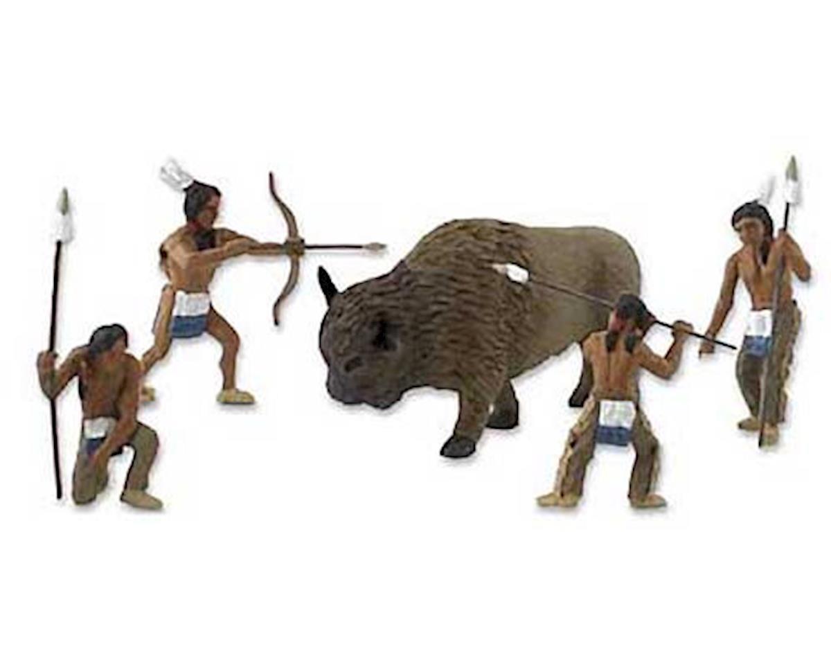 Woodland Scenics  Scene-A-Rama Scene Setters Native American Hunt